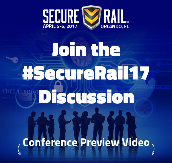 Join the #SecureRail Discussion