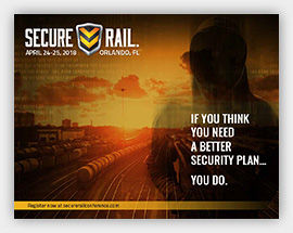 Secure Rail 2018 Brochure