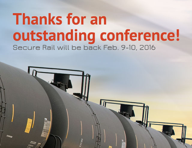 Secure Rail - A conference focused on protecting and managing the security of rail technology, assets and people